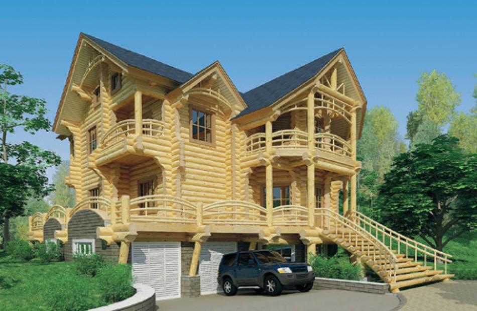 Смотреть деревянные дома фото